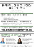 Ponca Softball Clinics