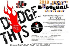 2018 Sioux City Futures Dodgeball Tournament